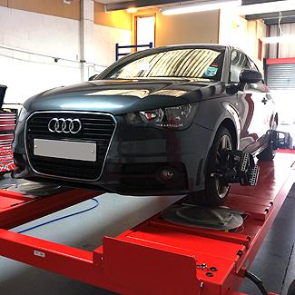 Audi A1 alignment